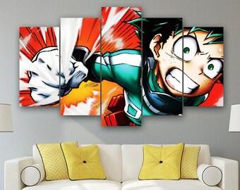 Anime Canvas Art Etsy