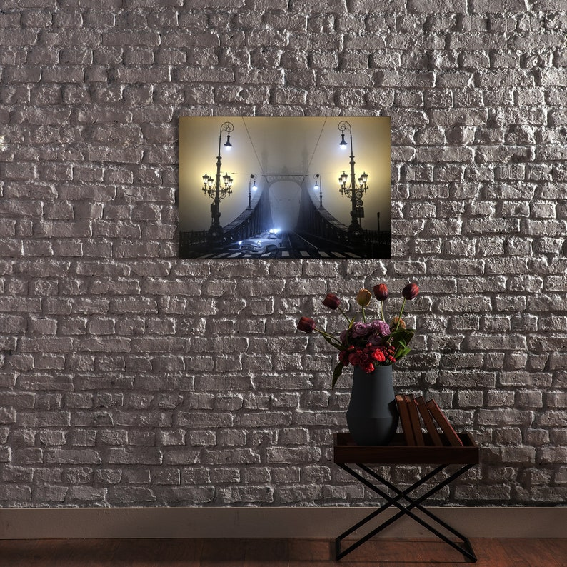 Large Tower Bridge London Canvas Picture Print With LED Lights