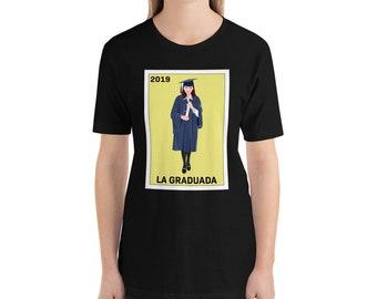 c019371b Loteria Shirts - La Graduada T Shirt, Graduation Gift 2019
