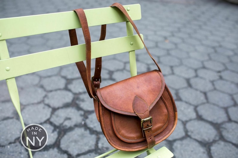 New Handmade Designer Hobo Real Leather Satchel Saddle Bag Retro Rustic Vintage