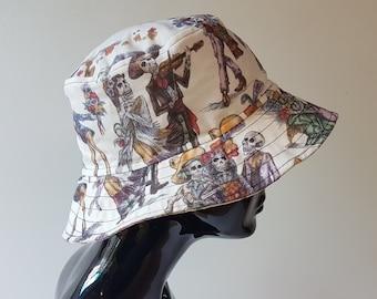 34309aa3ae3d4 summer festival rave lightweight bucket hat