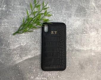 online retailer d60eb 34720 Leather phone case | Etsy