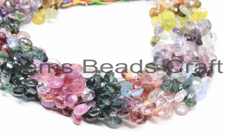 we suggest using 0.010in 0.25mm wire 14 7mm to 10mm Rhodolite Garnet drop shape faceted beads GARR03