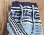 Shoulder bag: ecological crocheted cotton bag