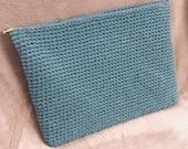 Laptop sleeve: blue turquoise
