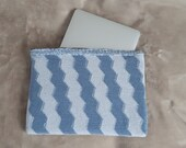 Laptop sleeve made from ecological yarn