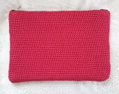 Laptop sleeve red