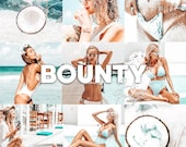 4 Mobile Lightroom Presets Bounty - Lifestyle Blogger Filter for Photo, Instagram Presets, Lightroom Mobile, Presets Mobile Lightroom