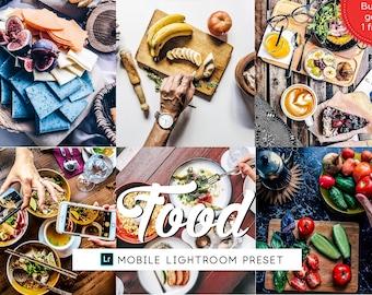 Food Blogger Lightroom Mobile Preset, Lifestyle Lightroom Preset, Iphone Preset Bright, Photography Preset, Travel Preset, Photo Enhancement