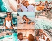 5 Lightroom Mobile Presets - Paradise - Best for Travel Lifestyle Instagram Blogger Photos Filters Lightroom Presets Mobile