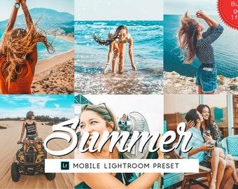 Bright Summer Lightroom Mobile Preset, Lifestyle Lightroom Preset, Iphone Preset Bright, Photography Preset, Travel Preset Photo Enhancement
