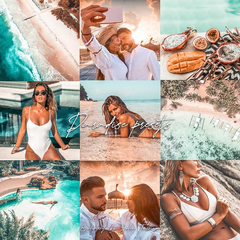 5 Lightroom Mobile Presets - Paradise - Best for Travel Lifestyle Instagram  Blogger Photos / Filters Lightroom Presets Mobile