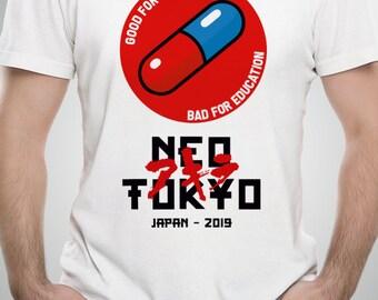134a1a9a6 Neo Tokyo Anime T-Shirt, Capsule Gang Tee, Enovikt We print all designs 706