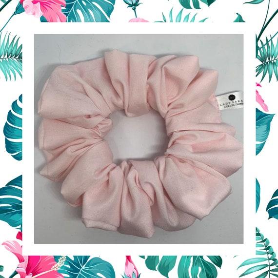 Large Vintage Rose Print Hair Scrunchie