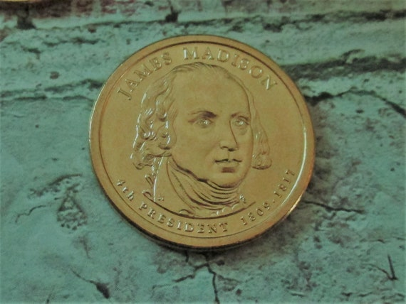 2007 JAMES MADISON PRESIDENT DOLLAR P or D MINT 1-COIN BRILLIANT UNCIRCULATED