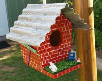 Items Similar To Wooden Birdhouses Loweshome Depot Yardstick