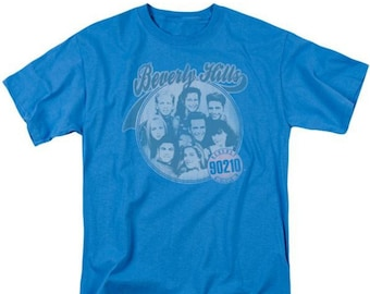 82102350 Beverly Hills 90210 Circle Of Friends Short Sleeve T-Shirt Adult Unisex  Popular Characters Dylan McKay Brenda Walsh Kelly RIP Luke Perry