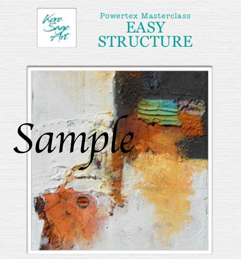 Tutorial Easy Structure Masterclass Powertex InstructionPDF  image 0