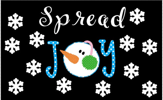 Winter Bulletin Board Set Snowman Paper Etsy