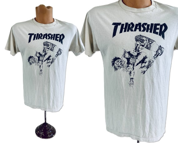 Original 1980's Thrasher Magazine Pusshead Subscri