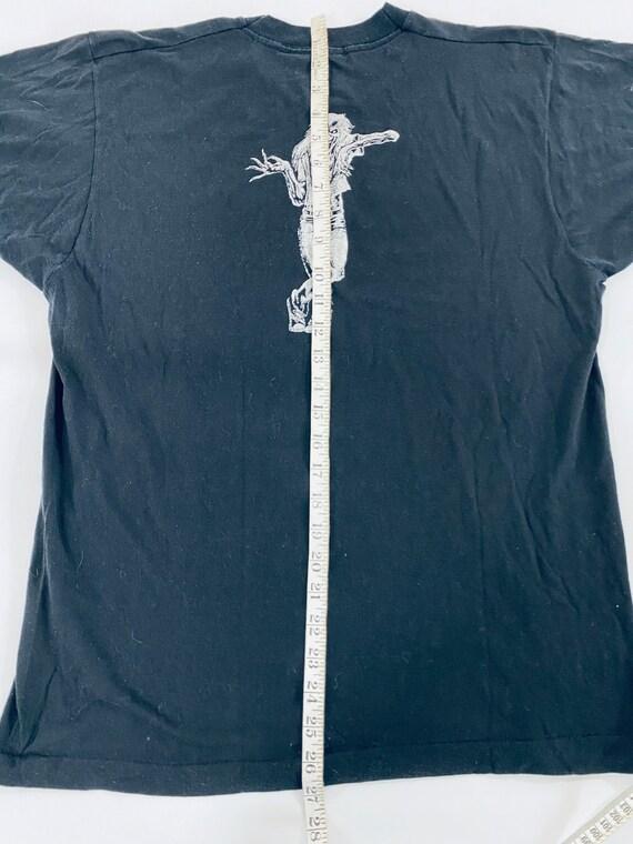 Vintage Iron Maiden Live After Death Shirt 1980s … - image 9