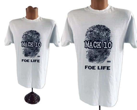 Mac 10 Foe Life Rap Tee L