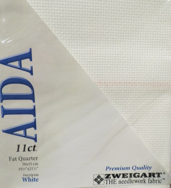Zweigart Antique White 20 count Extra Fine Aida 50 x 110 cm