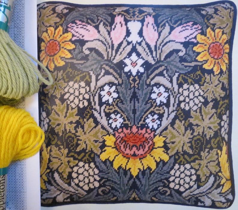 b5fbfdc479ab Tapestry Kit Needlepoint Kit William Morris Sunflowers | Etsy