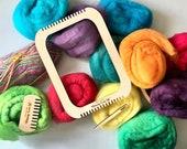 Weaving Loom Kit, Beginner's Weaving Kit, Kid's Weaving Loom, Lap Loom, quarantine activities
