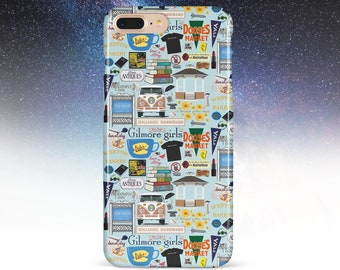 18052d36f7b7f Gilmore Girls Case iPhone X XR cover iPhone XS Case The Stars Hollow World  iPhone 8 Plus Case iPhone 8 Case Galaxy S9 Case iPhone X Case