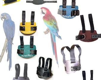 X-Large Parrot Harness & Leash