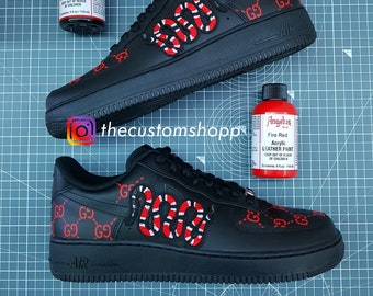 cc2e8fea4da8 Custom Air Force 1 - Gucci GG Snake