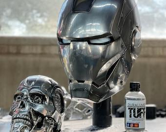 Duralumen TUFF 4oz bottle - Toughened chrome airbrush paint by The Digital Armory