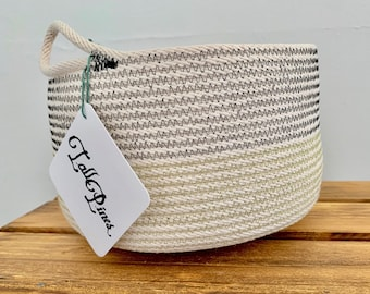 Medium Cotton Rope Bowl