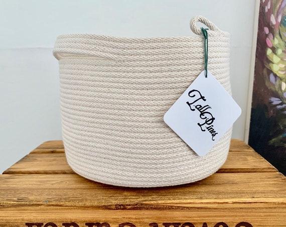 Large Cotton Rope Bowl