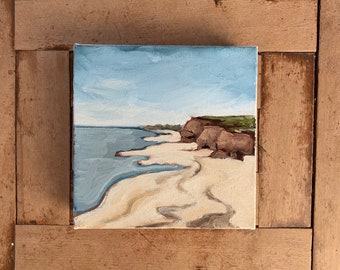 "6""x6"" Original PEI Landscape Oil Painting"