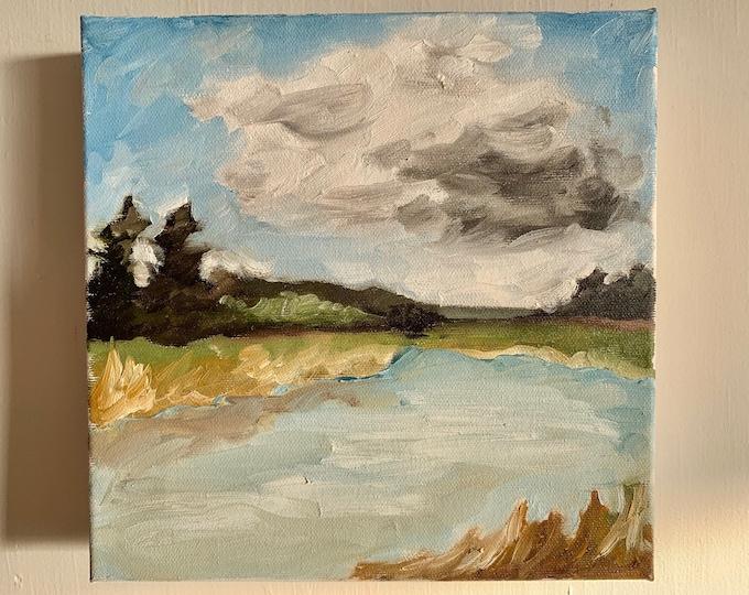 Original PEI Landscape Oil Painting