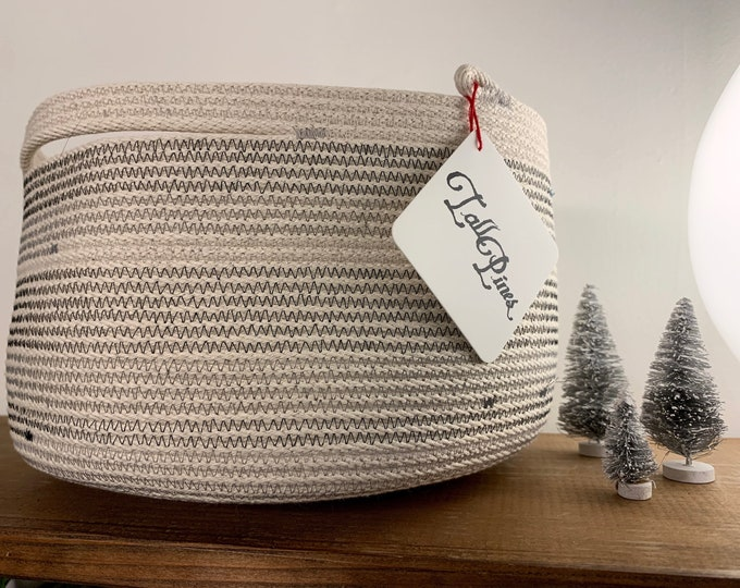 Featured listing image: Large Cotton Rope Bowl