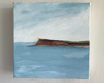 "6""x6"" Original PEI Landscape Oil Painting"