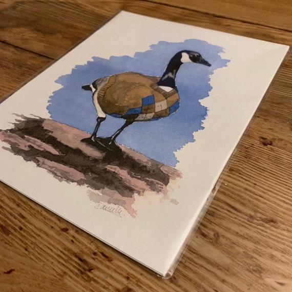 """8""""x10""""Canada Goose Print"""