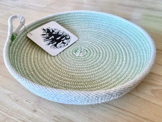 Small Cotton Rope Bowl