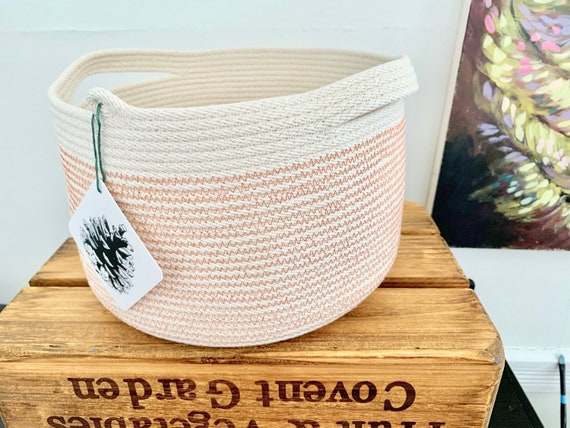 Large Cotton Rope Bowl