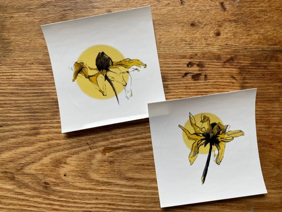 Rudbeckia Sticker Set