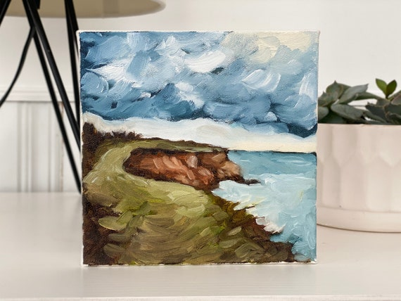 """6""""x6"""" Oil Painting"""