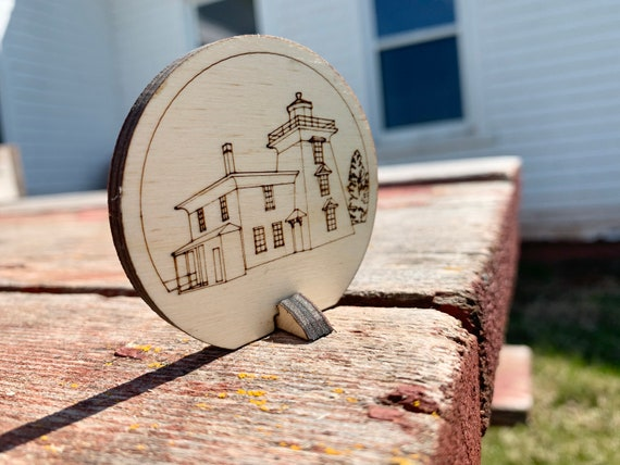 Lighthouse Ornament - Skmaqn–Port-la-Joye–Fort Amherst