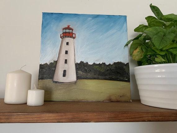 "10""x10"" Original PEI Landscape Oil Painting"