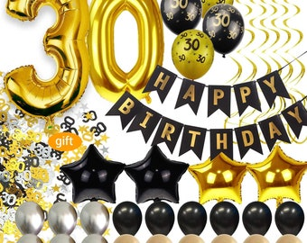 30th Birthday Decorations For Men Party Supplies Dirty Thirty Him