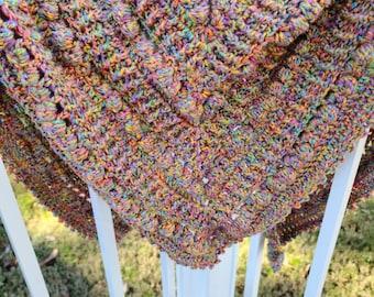 Crochet Shawl Wrap Scarf