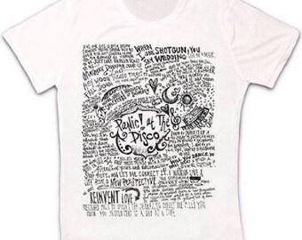 d743f035 Panic At The Disco Band Music Retro T Shirt 1072