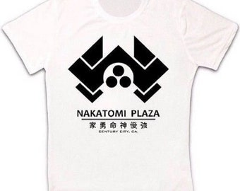 dea92de2 Die Hard Movie Nakatomi Plaza Retro T Shirt 1208